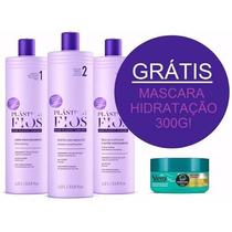 Kit Plastica Dos Fios Selagem Original 3 Produtos + Brinde
