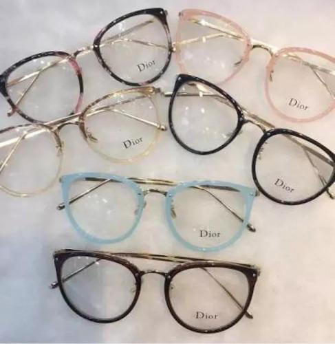 0cfffa7c4 Óculos Feminino Armação Grau Geek Quadrado Vintage Dio à venda em ...