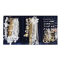 Atacado Semi-joias Folheados Ouro/prata-50 Peças