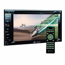 Dvd E Som Automotivo E-tech Com Entrada Para Tv Digital