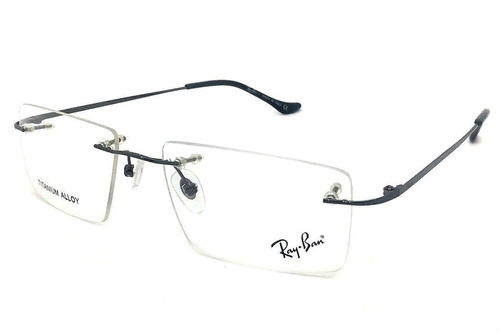 Armação Oculos Grau Rb2011 Original Titanium Masculino ffcb047238