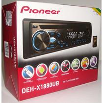 Toca Cd Pioneer Deh-x1880ub Mixtrax Usb Saida Subwoofer
