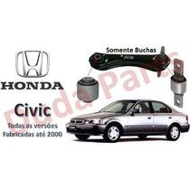 Kit 02 Bucha Braço Superior Suspensão Traseira Honda Civic