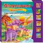Livro Infantil Dinossauros Sonoro - O Que Temos Para Jantar?