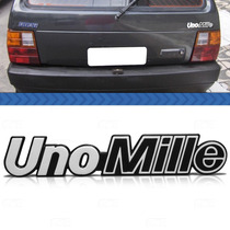 Emblema Tampa Porta Malas Fiat Uno Mille 1993 1992 1991