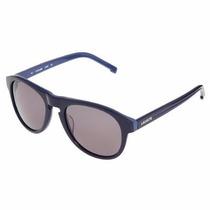 Lacoste L608s Blue Original + Case Lacoste - Óculos De Sol