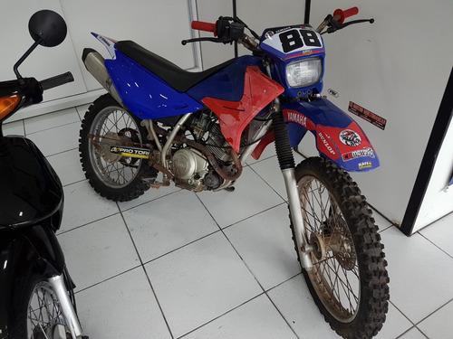 XTZ 125 E 2003 DE TRILHA, ACEITO TROCA E PARCELO NO CARTÃO