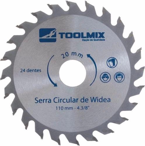 Lâmina Serra Circular 250x30mm 36 Dentes P / Madeira Toolmix