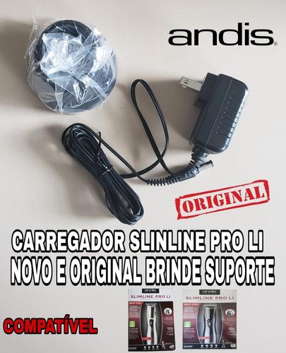 09cfdfbac Carregador Original Slinline Pro Li Novo + Base Carregamento