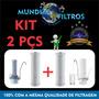 2 Refil Para Filtro De Agua Purificador Hoken Single + Frete