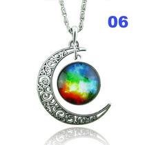 Colar Místico Prata - Lua 6