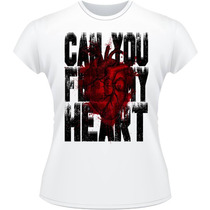 Baby Look Can You Feel My Heart Bring Me The Horizon Camisa