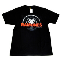 Camiseta Ramones Original Consulado Do Rock Cod 545