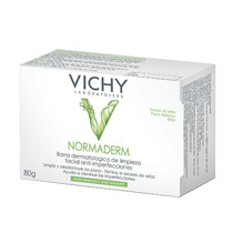 Normaderm Sabonete Barra Vichy Com 80 Gramas