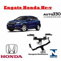 Engate Reboque Nova Honda Hr-v Hrv - Inmetro - Auto330