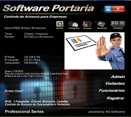Software Para Controle De Acesso Biométria Para Empresas 25d8151b8f