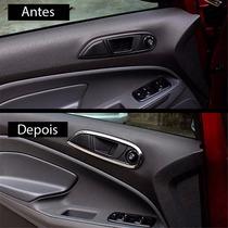 Aro Cromado Moldura Maçaneta Interna Acessório Ford Ecosport