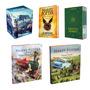 Harry Potter 13 Livros Box Crian�a Hogwarts Ilustrados !
