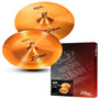 Kit Pratos Zildjian Zbt Expander Zbte2p 18 Crash + 18 China