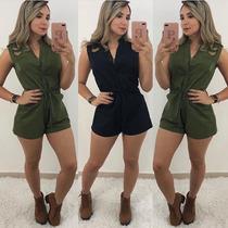 eb51e94187 Busca Macaquinho curto com os melhores preços do Brasil - CompraMais ...