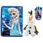 Tablet Educativo Infantil Capa Frozen Celular + Pelucia Olaf
