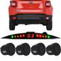 Sensor De Ré Estacionamento Jeep Renegade Visor Slim De Led