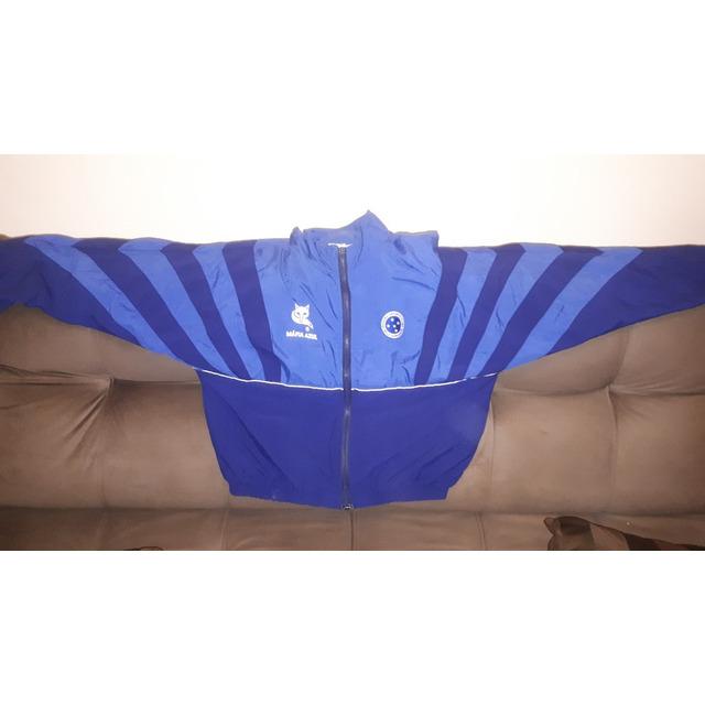 Jaqueta Agasalho Torcida Mafia Azul Finta Cruzeiro G Perfeit  6a9b540b1ac46