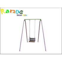Balanço Infantil 01 Lugar, Cadeirinha C/ Corrente Brinquedo