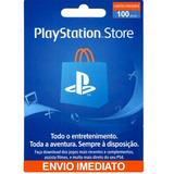Gift Card Psn 100 Reais Cartão Psn Brasileira Psn 100 Reais
