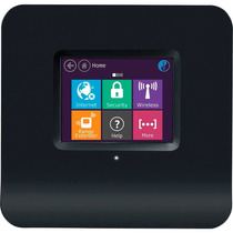 Roteador E Extensor Wireless Touch 300 Mbps Almond Black
