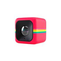 Câmera Filmadora De Ação Polaroid Cube Vermelho, Fisheye