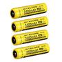 4 X Baterias Recarreg Nitecore 18650 - Nl189 - 3400 Mah 3,7v