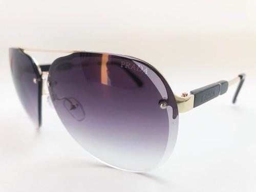 f24c44ef1 Oculos De Sol Feminino Prada Original Grande Frete Gratis. R$ 379