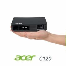 Mini Projetor Acer C120 Portátil 100 Lumens P/ Pc E Notebook