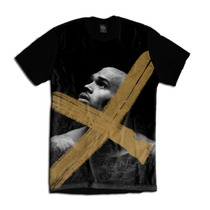 Camiseta Personalizada Swag Face Rosto Chris Brown