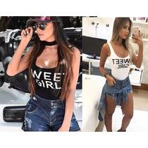 Body Sweet Girl Bulls Beyoncé Panicat Body Regata Bolgueiras