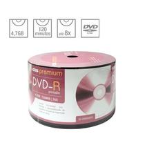 50 Dvd-r Cis Premium Printable Midia Virgem 4.7g 8x Lacrado