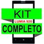 Tela Vidro Visor Nokia Lumia 920 + Kit Remoção Completo