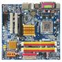 Kit Placa Mãe Gigabyte 775 Ddr2 / Dual Core 2.6/ 1gb/ Cooler