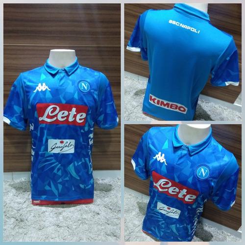Camisa Napoli Lançamento 2018 2019 Pronta Entrega 51034f33e0d8c