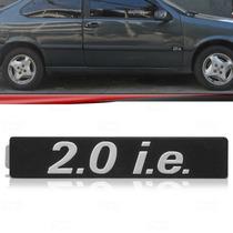 Emblema Friso Lateral Fiat Tempra 2.0 I.e. 92 Até 99 Prata