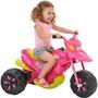 Moto Elétrica Bandeirante 6v Xt3 Fashion Rosa
