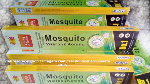 Incenso 35 Caixas Mata Carapanã Pernilongo Mosquito  0,15%