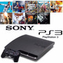 Playstation 3 Ps3 Slim + Gta 5 + Fifa 19 + Call Of Duty