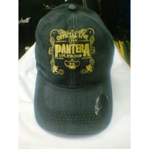 Bone Pantera Official Live Estilo Envelhecido Surrado
