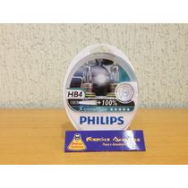 Lampada Philips X-treme Vision Hb4 55w 100% + Luz