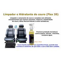 Limpa Bancos Couro - Higieniza, Hidrata, Revitaliza O Couro