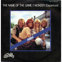 Abba - The Name Of The Game - Single - France - Selo Melba