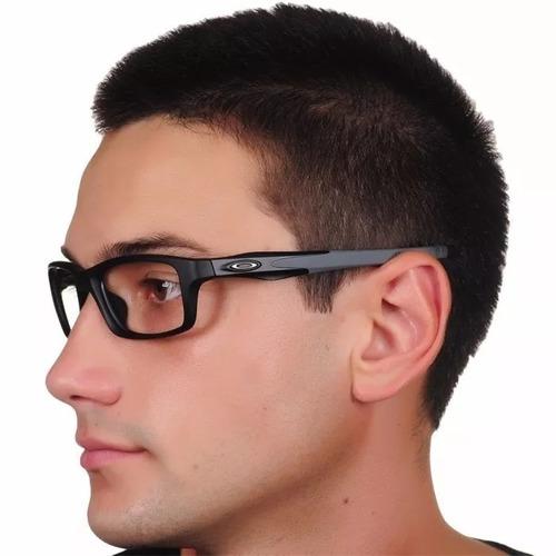 Óculos Armação De Grau Acetato Masculino Retangular + Brinde. R  69.99 3a9182b61c