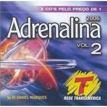 Cd Adrenalina - Vol.2 - 2006 - 2 Cds